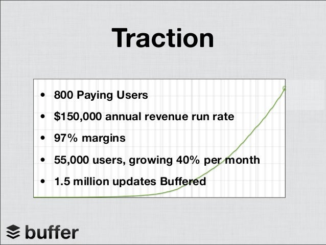 Milestones - Launched web app January 2011 - 55,000 users ($150K revenue) October 2011 - Launch the API October 2011 - Int...