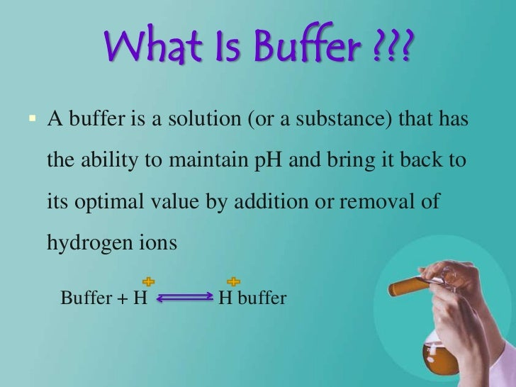 what is the function of buffer