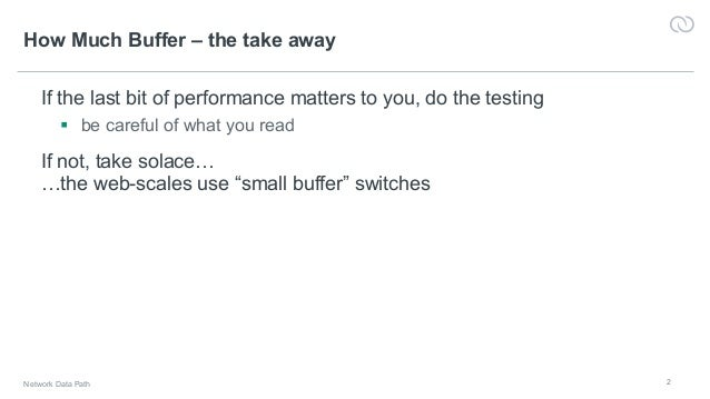 How deep is your buffer – Demystifying buffers and