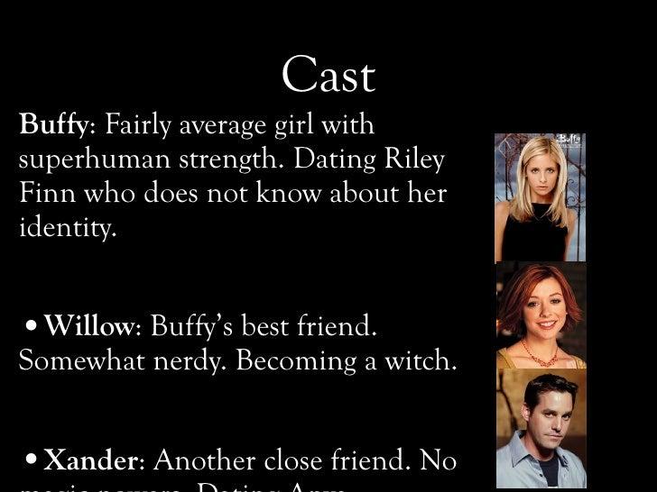 Buffy dating hekte kultur University of Pennsylvania