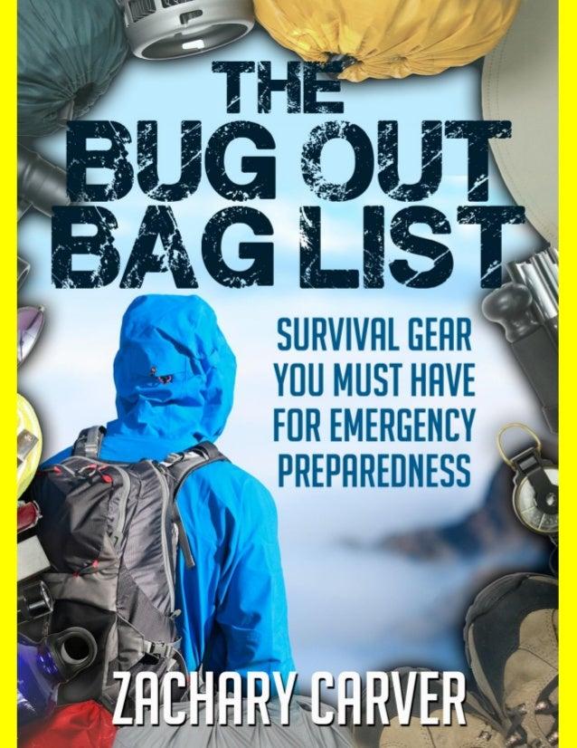 Bug Out BagBug Out Bag List 1
