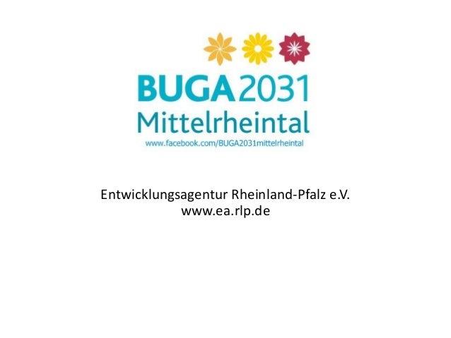 Entwicklungsagentur Rheinland-Pfalz e.V. www.ea.rlp.de