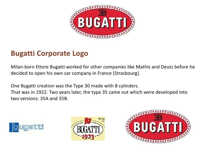 Bugatti presentation bugatti corporate logobr voltagebd Image collections