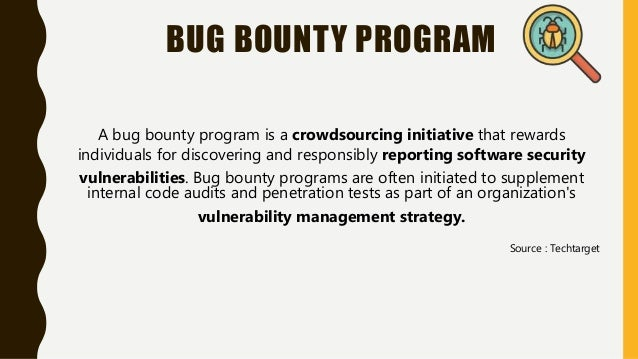 Bug bounty programs Slide 3