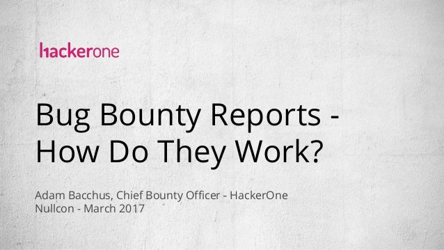 Bounty Craft: Bug bounty reports how do they work