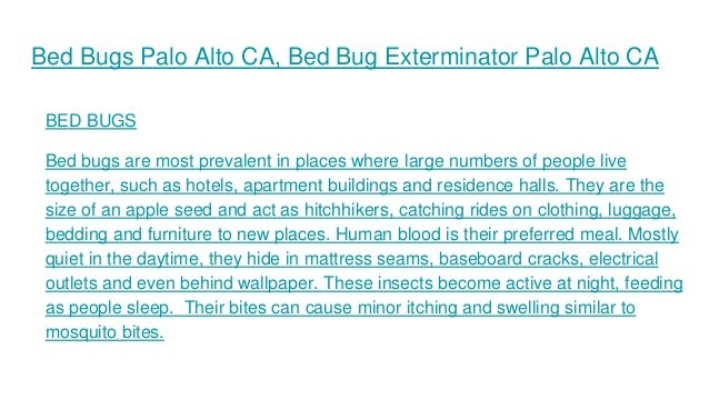 Bed Bug Exterminator San Francisco
