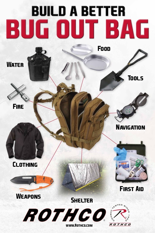 Build A Better Bug Out Bag With Rothco