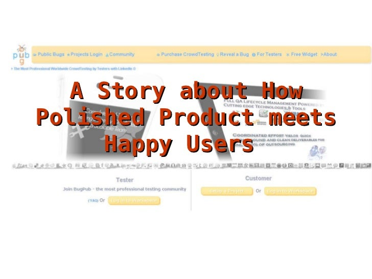 A Story about How Polished Product meets Happy Users