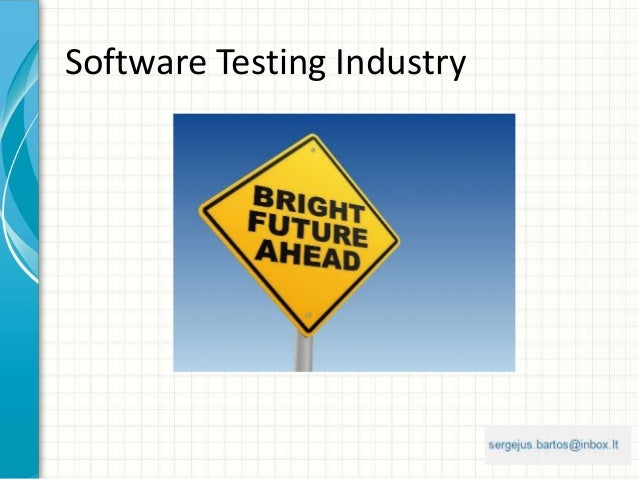 Software Testing Industry