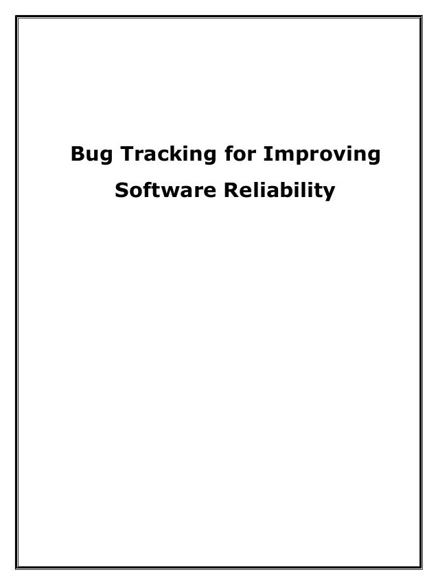 bug tracking java project