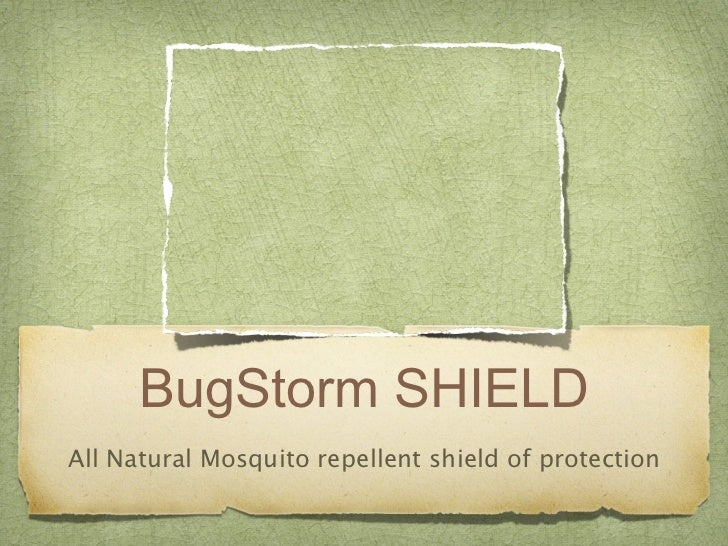 BugStorm SHIELDAll Natural Mosquito repellent shield of protection
