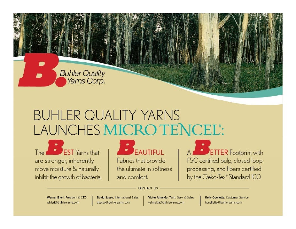 The Best Yarns    Since 1858 Hermann Bühler has produced yarns for customers with the highest requirements. Innovative pro...