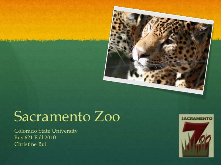Sacramento Zoo<br />Colorado State University<br />Bus 621 Fall 2010<br />Christine Bui<br />
