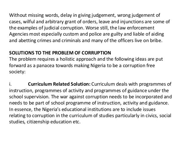 The Corruption of the Curriculum