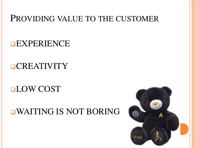 which of the five marketing management concepts best describes build a bear workshop Materials for review the following materials will help you address each of the topics and learning activities in this module note: several of the following materials for review are sections of a larger document, basic guide to leadership and supervisionan upcoming learning module staffing and supervision of employees also references various sections of that document.