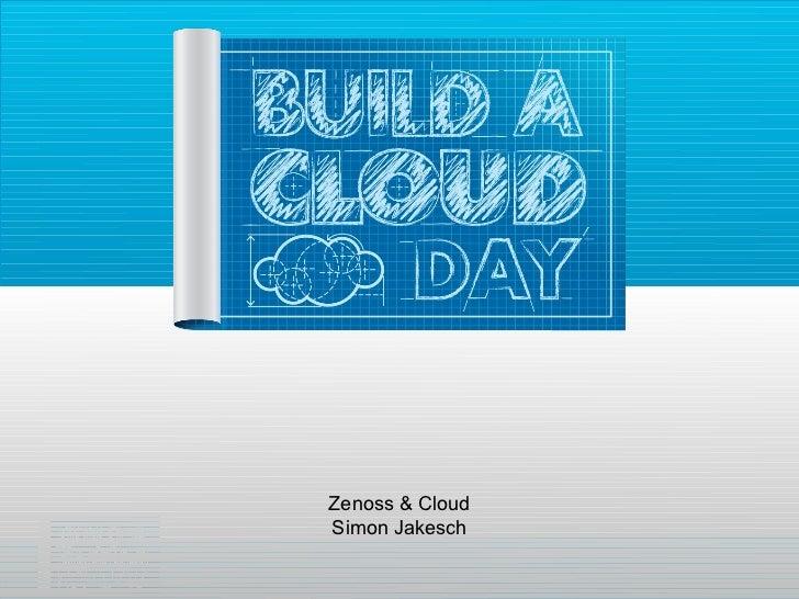 Zenoss & CloudSimon Jakesch