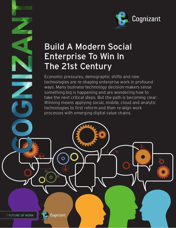 Build A Modern Social                   Enterprise To Win In                   The 21st Century                   Economic...