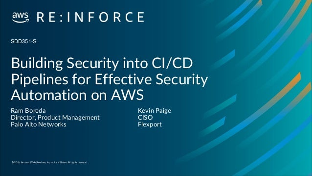 Build security into CI/CD pipelines for effective security