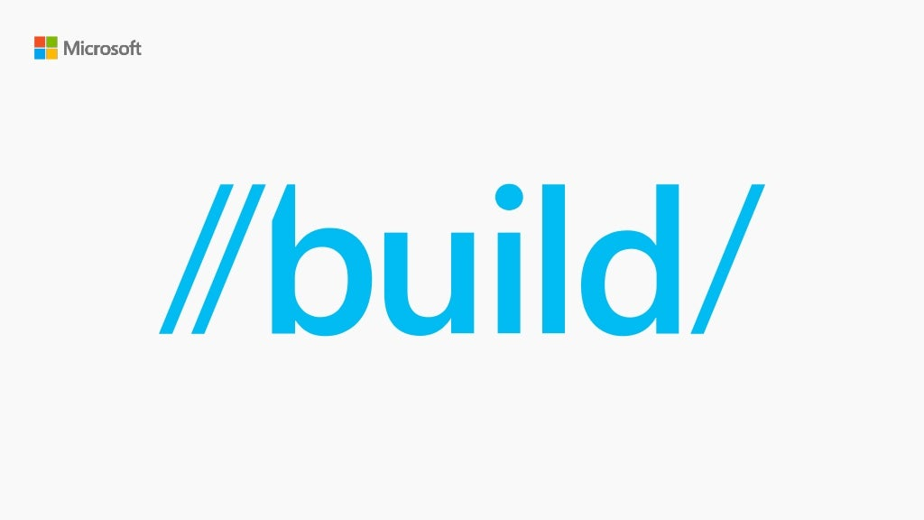 Build 2016 - B857 - Intelligent Data Driven Applications that Learn and Adapt