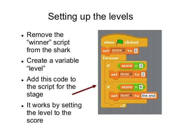 How to make new levels in scratch - YouTube