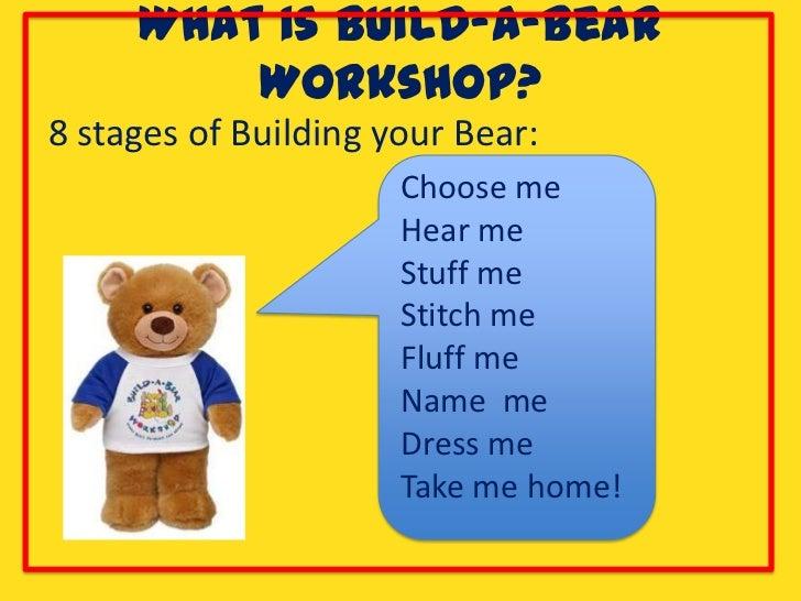 Build a bear ppt final