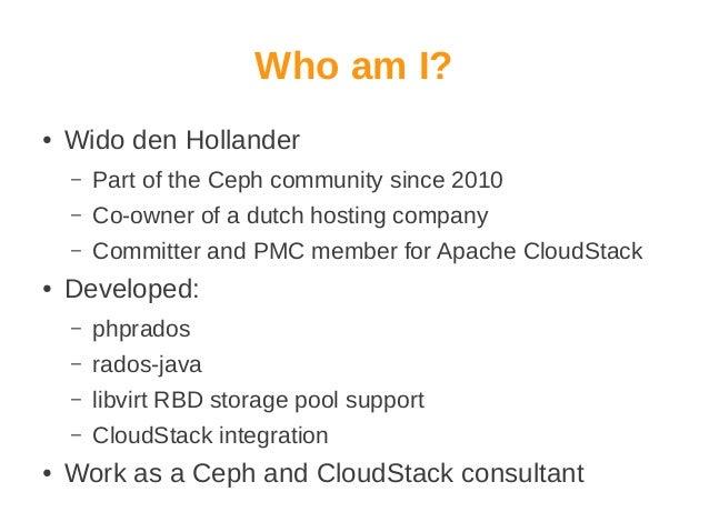 Integrating CloudStack & Ceph Slide 2