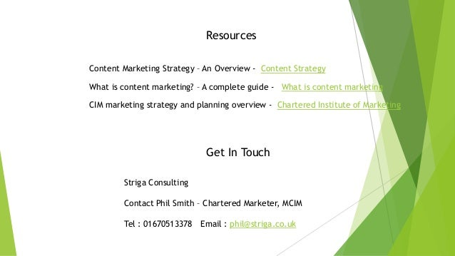 Resources Content Marketing Strategy – An Overview - Content Strategy What is content marketing? – A complete guide - What...