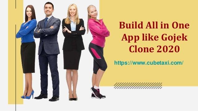 Build All in One App like Gojek Clone 2020 https://www.cubetaxi.com/