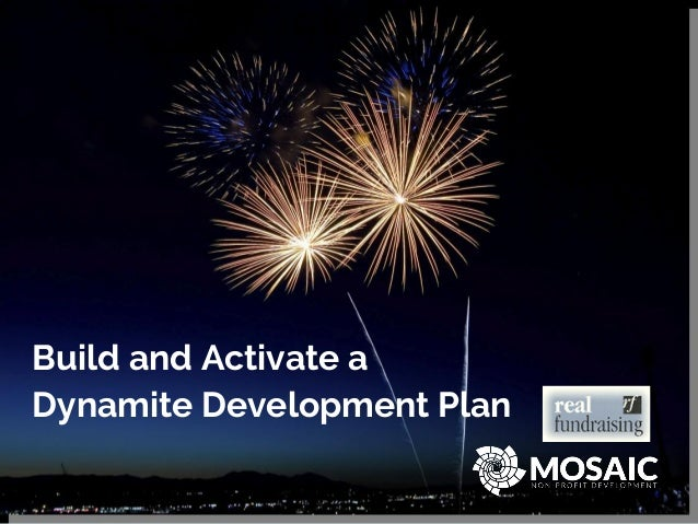 Build and Activate a Dynamite Development Plan