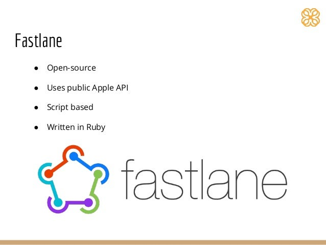 Build and release iOS apps using Fastlane tools
