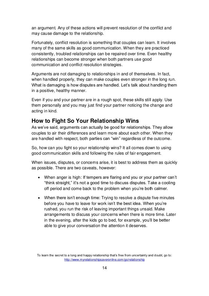 Building and sustaining positive relationships essay