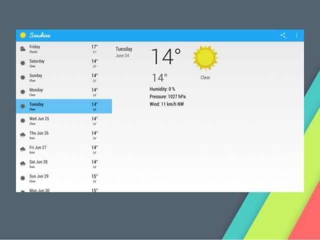 how to build a weather app