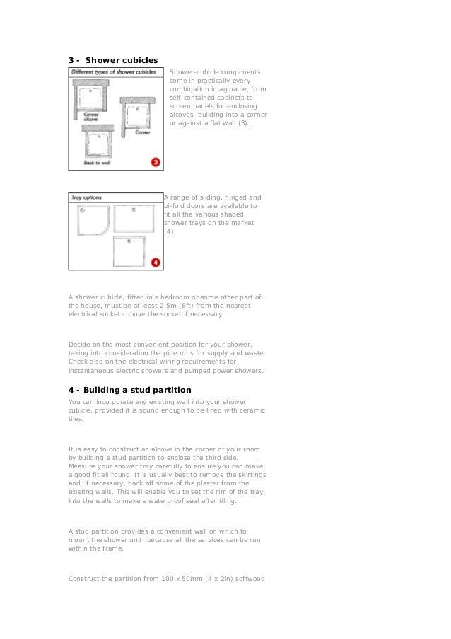 Best Power Shower Cubicles Gallery - The Best Bathroom Ideas ...