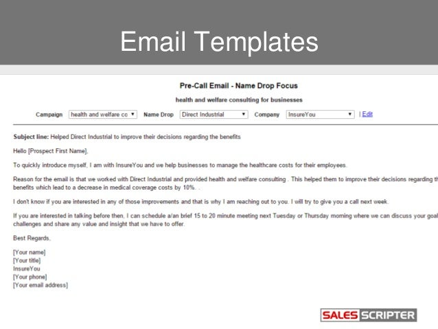 insurance sales email templates  Build a Strong Sales Pitch When Selling Insurance