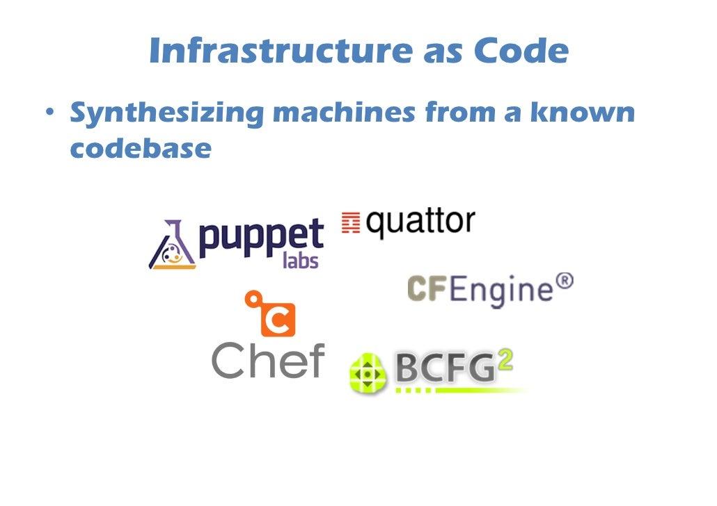 "Puppet           class ssh{                   package { ""openssh-server"":                            ensure => latest,    ..."