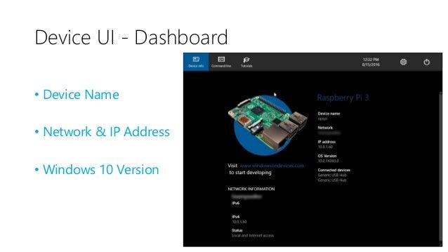Device UI – Setup Wifi & Bluetooth • Setup Wifi • Setup Bluetooth