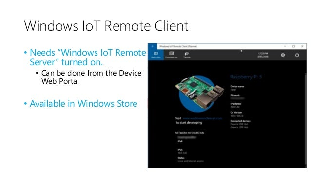 Windows IoT Core Pro Commercial Version is available https://www.windowsforiotdevices.com/