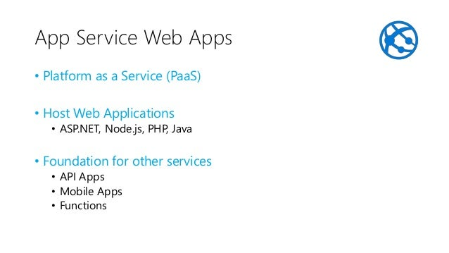 Azure Functions • Server-less • Well not really, actually built on top of App Service Web Apps • Language Support: • C# an...