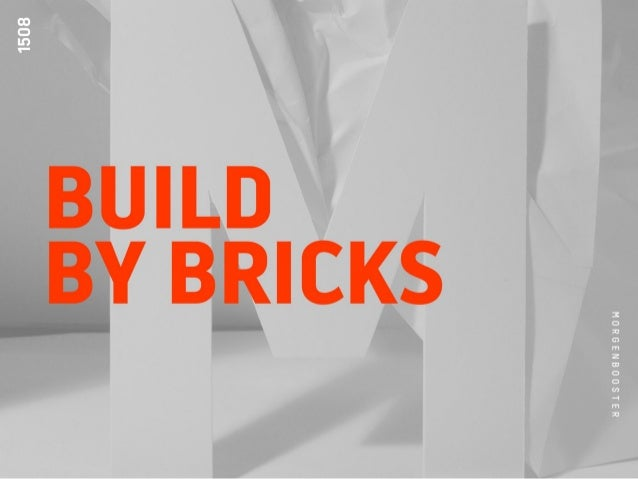 29-04-2015MORGENBOOSTER - BUILD BY BRICKS