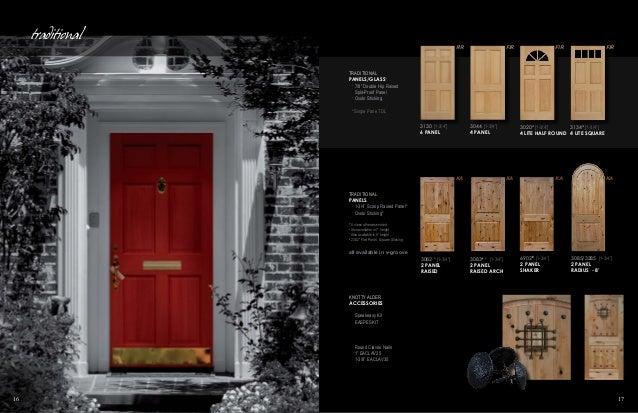 ... 9. & Builders Choice by OrePac Stile \u0026 Rail Doors Catalog