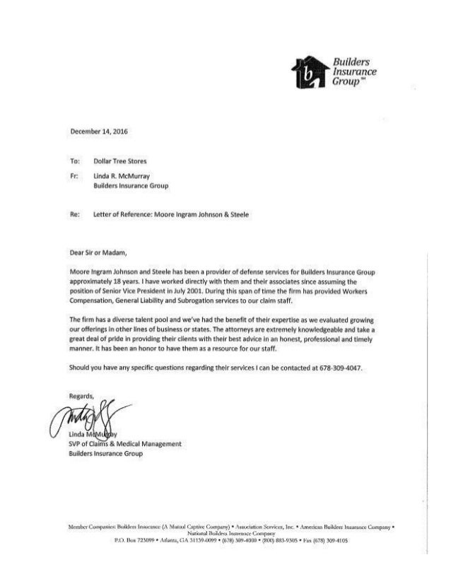 Letter Of Recommendation For Company Services from image.slidesharecdn.com