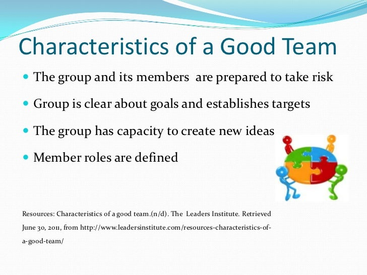 qualities of a successful team Excellent coordination among team members is critical to any business teamwork is the base of success for most of the companies we idealize team work as a set of a well-oiled machine with.