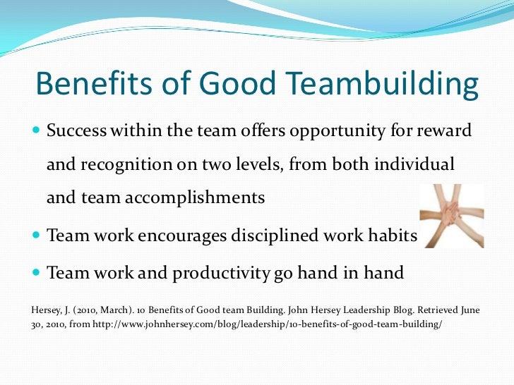 Build good teams