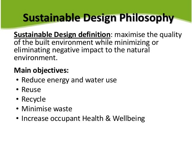 build green services presentation