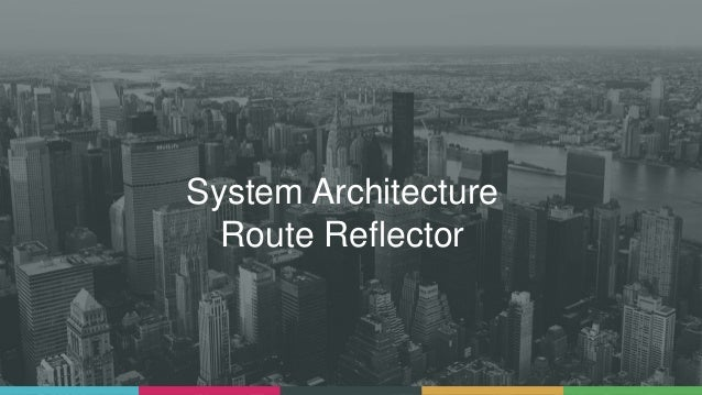 System Architecture Route Reflector