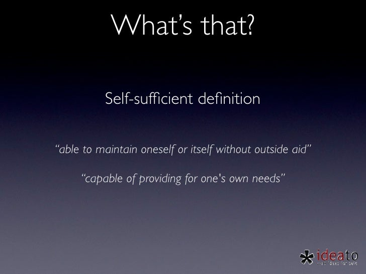 Building A-self-sufficient-team