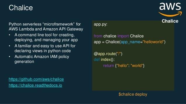 Building API Driven Microservices