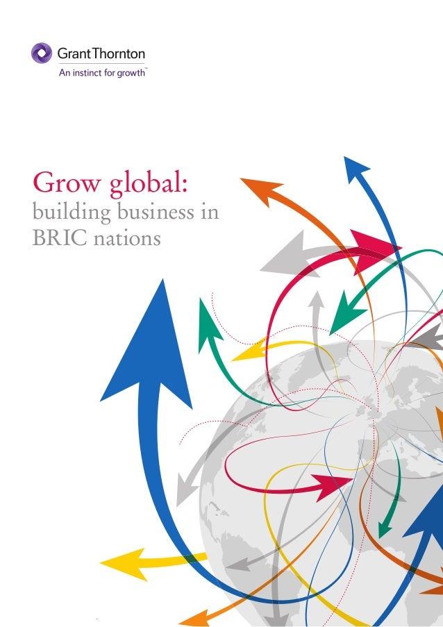 Grow global:building business inBRIC nations