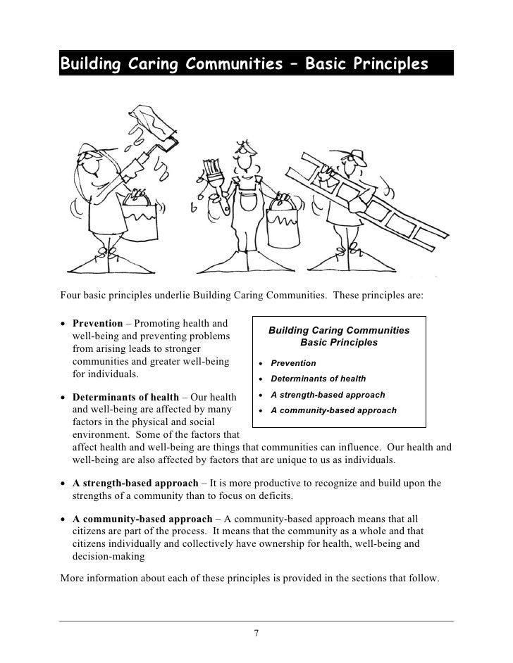 principles of a relationship based caregiving environmental problems