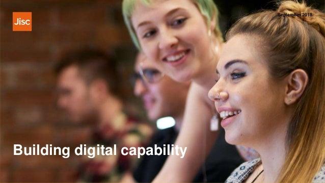 Building digital capability September 2018
